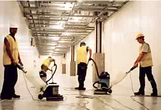 builder construction cleaning
