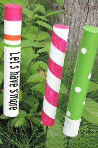 DIY Custom Marshmallow Roasting Sticks