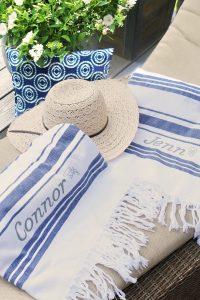 DIY Custom Beach Towels
